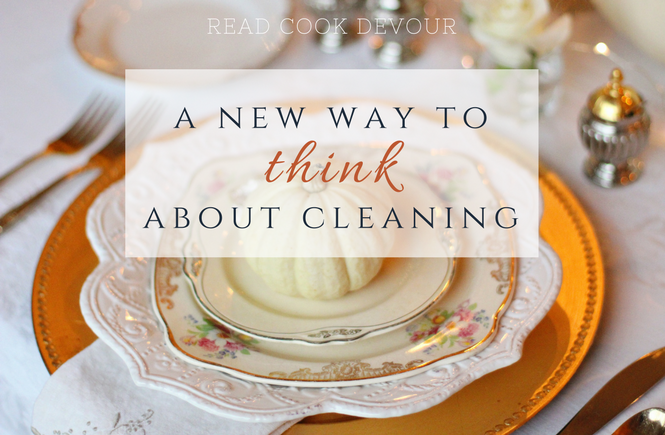 A New Way to Think About Cleaning