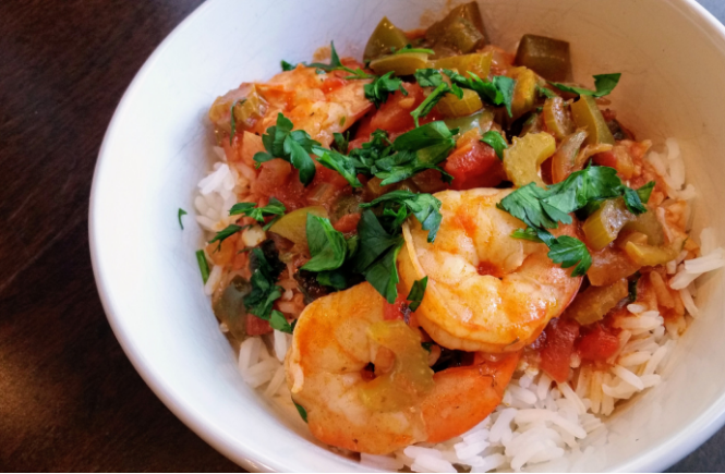 Shrimp Creole | Rice Dish | Cajun | New Orleans | Dinner | Seafood