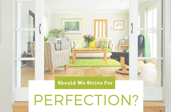 Should We Strive For Perfection? Facing the Call to Holiness
