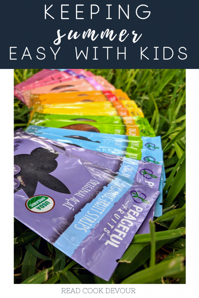 Summer with Kids: Keeping It Simple and Easy