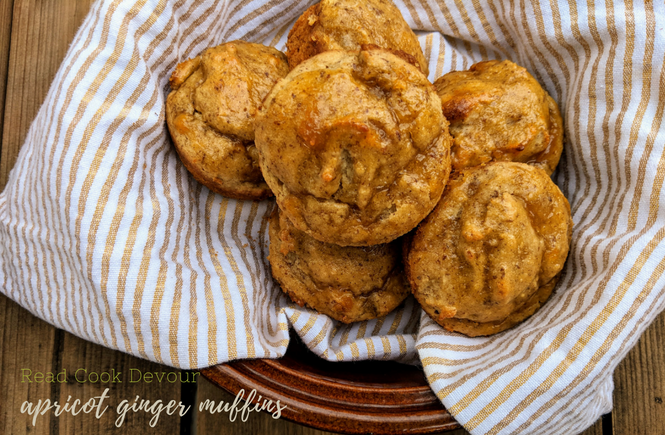 Apricot Ginger Muffins