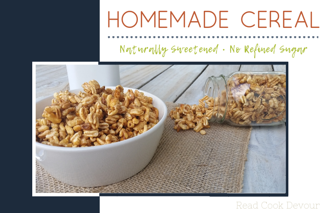 Homemade Naturally Sweetened Smacks Cereal | No Refined Sugar | Copycat Kelloggs