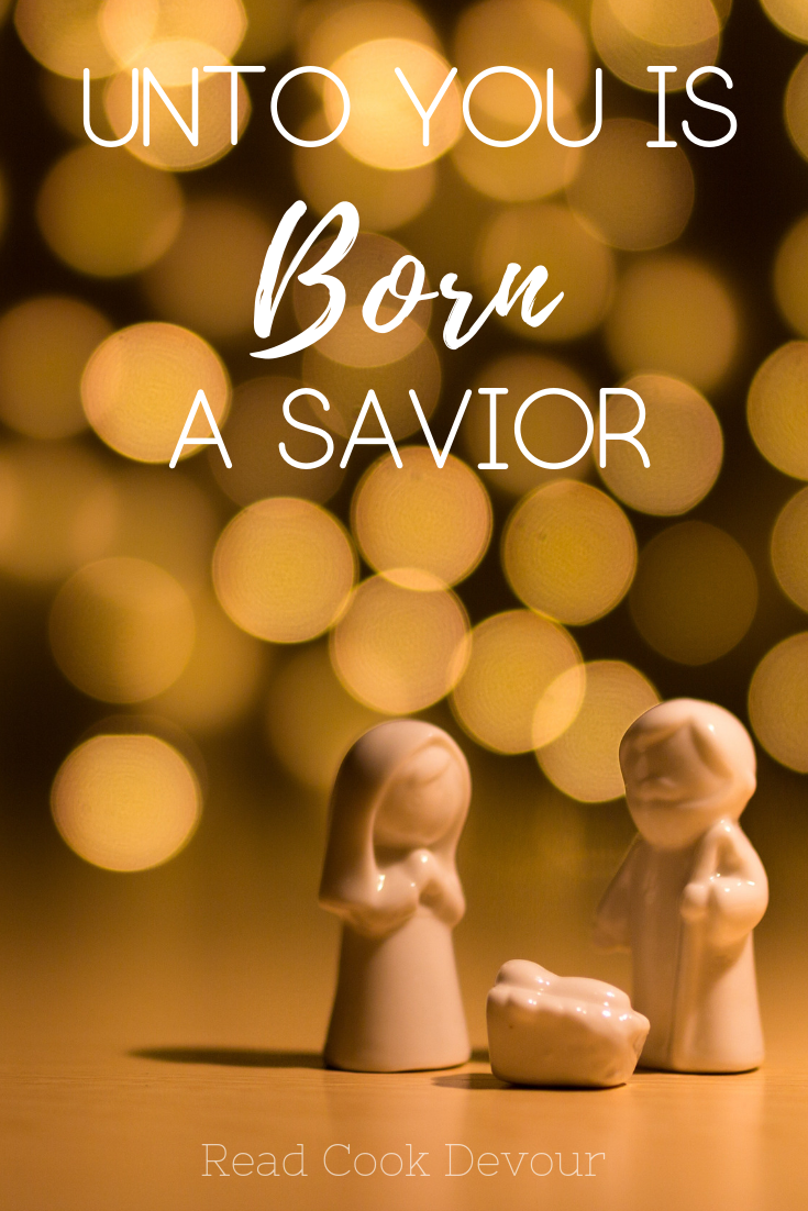 Unto You Is Born A Savior | Divine Flesh | Fully God and Fully Man | Hope | Expectation | Christmas | Angel
