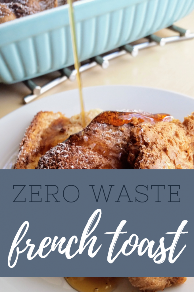 Zero Waste Overnight French Toast | Ways to Use Up Bread Ends | Breakfast  for a Crowd | Freezer Store |
