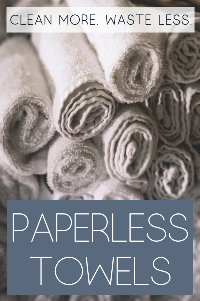 Paperless Towels | Clean More. Waste Less. | #zerowaste #sustainable | Reduce Reuse Recycle | Kitchen Cleaning Tips