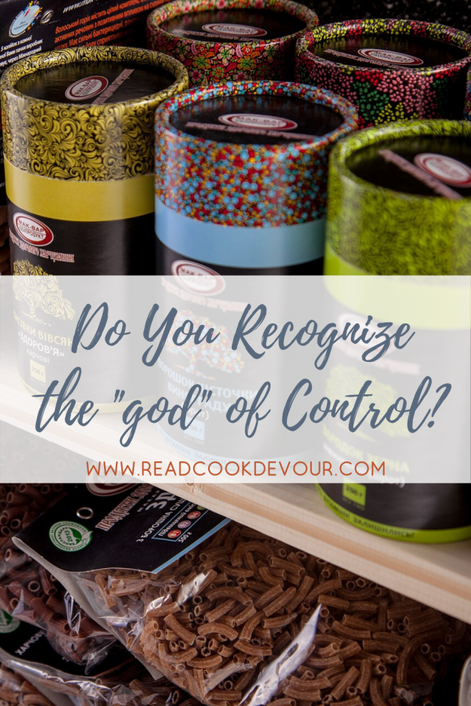 "Do You Recognize the ""god"" of Control?"