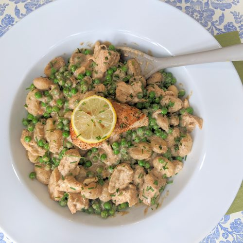 Lemon & Chicken Gnocchi with Creamy Ricotta Sauce