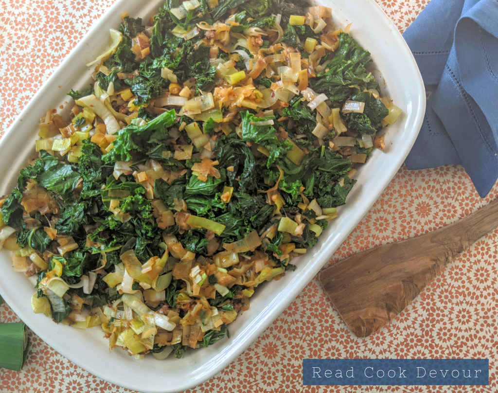 Sausage, Kale and Squash Casserole (an oven-full of autumn)